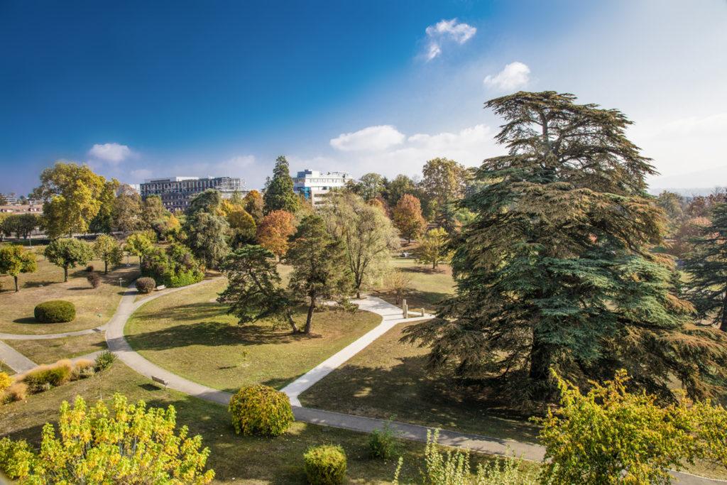 Un parc de 6 hectares