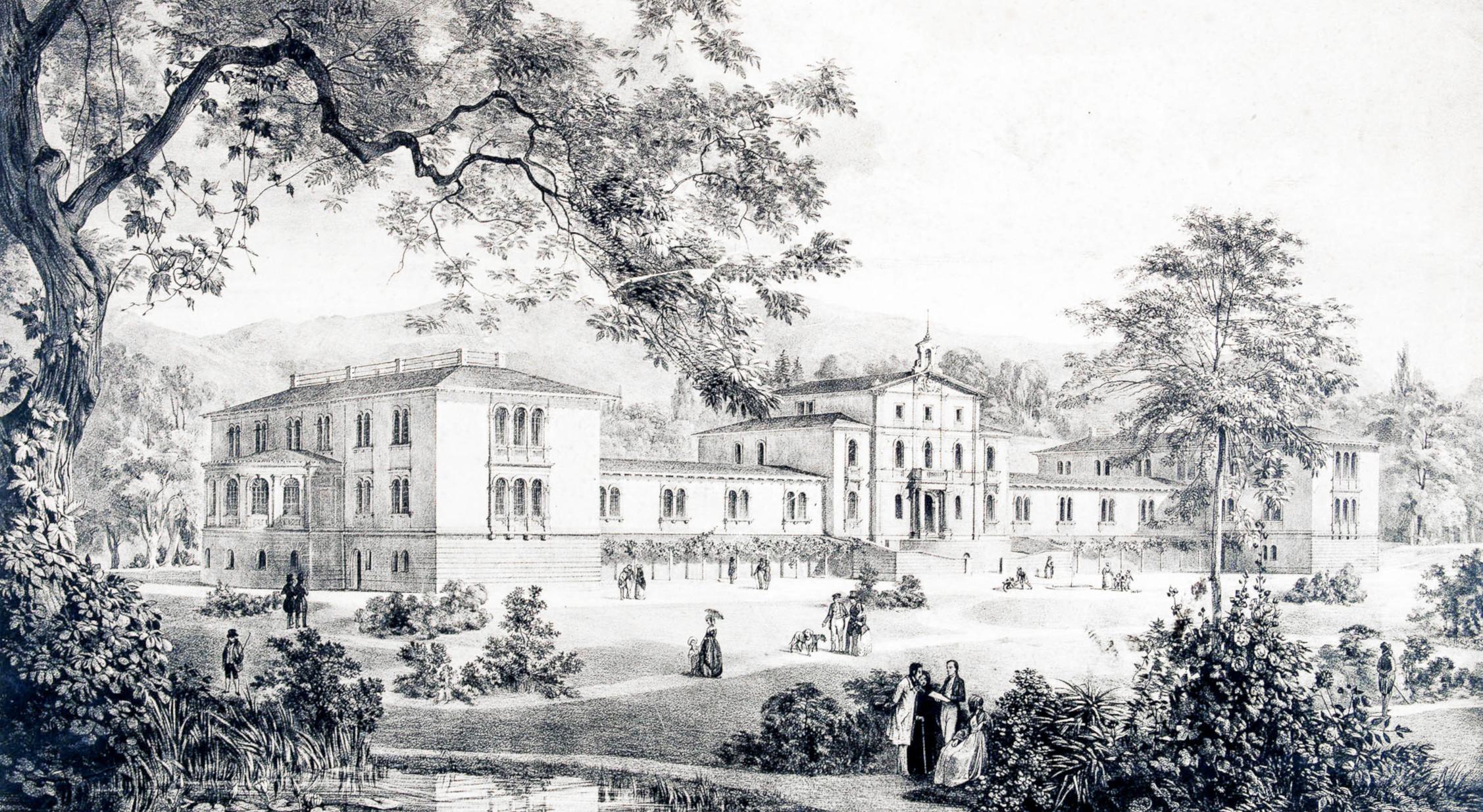 La Maison de Retraite du Petit Saconnex en 1849