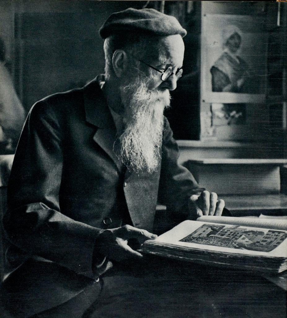 Louis Guggeri créateur de la bibliothèque de la Maison de Retraite du Petit-Saconnex