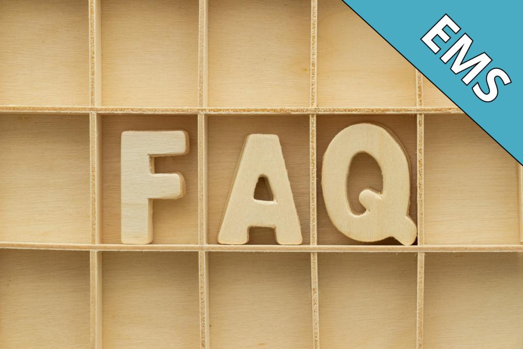 Questions fréquemment posées avant l'entrée en établissement médico-social. EMS