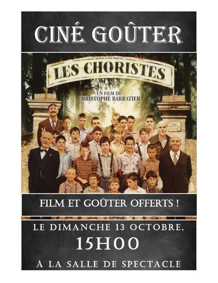 """Ciné gouter """"Les Choristes"""""""