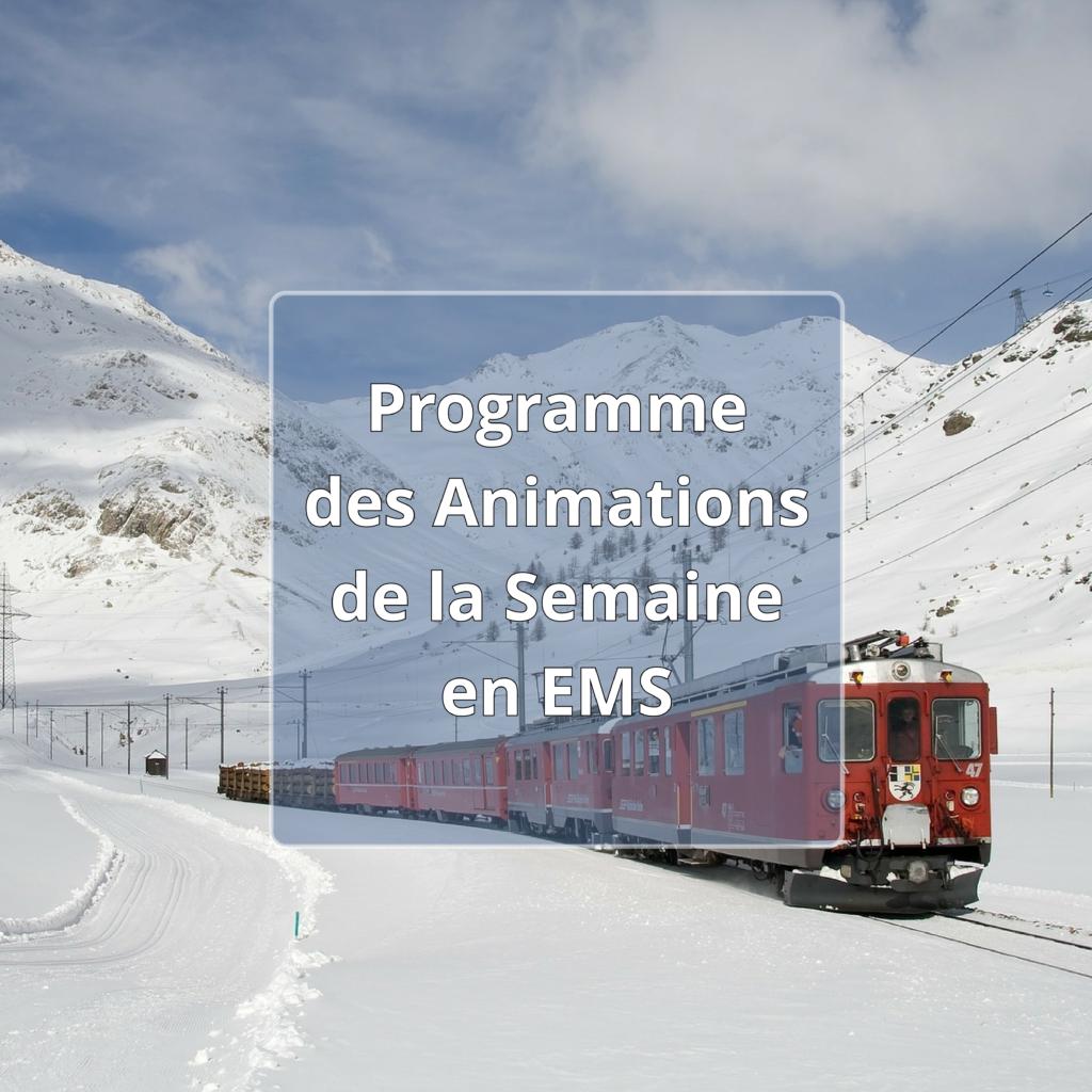 Programme des animations EMS