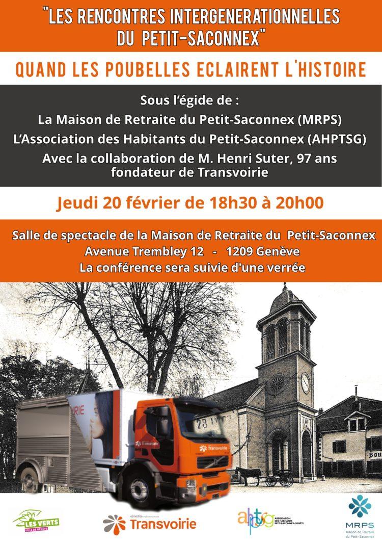 Rencontre intergénérationnelle à la Maison de retraite du Petit-Saconnex EMS Genève