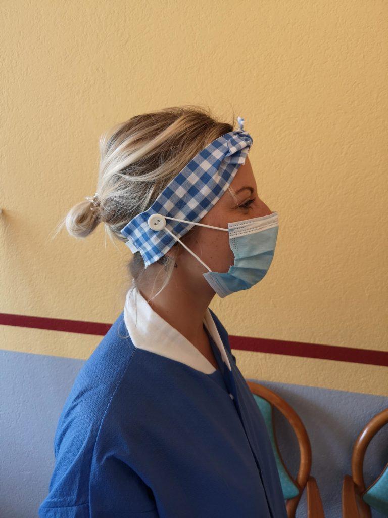 Des bandeaux pour soulager les soignants