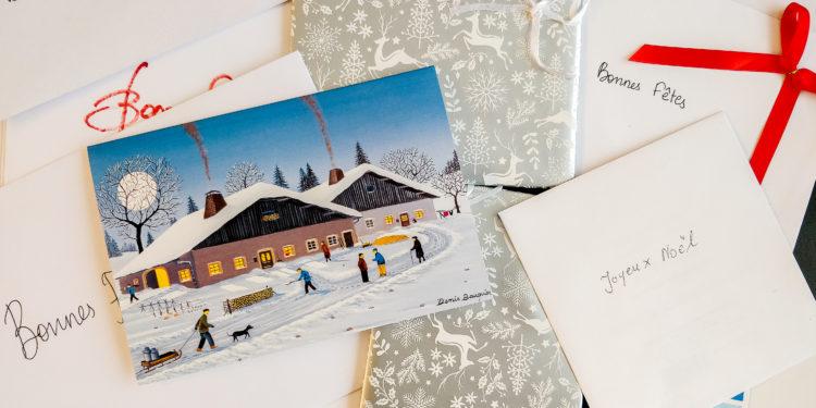 Le courrier de Noël pour notre EMS