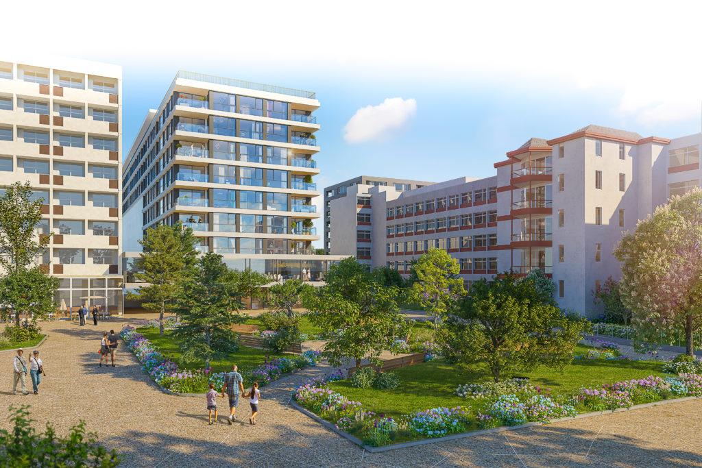 Le futur le Maison de retraite du Petit-Saconnex